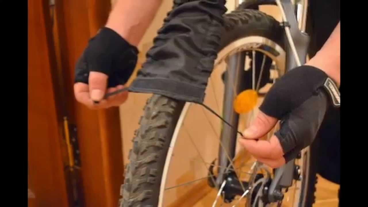 Сборка велосипеда. Руль и переднее колесо - YouTube