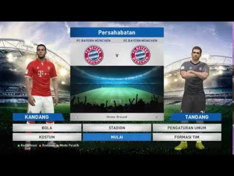 ALLIANZ ARENA OF BAYERN MUNCHEN WITH EXTERIOR VIEW PES 2016
