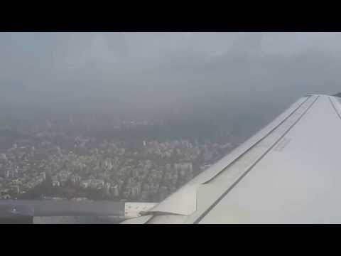 Mumbai Airport Take off GoAir most beautiful video