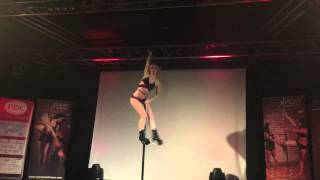 Robyn Rooke - Guest Performance - Inter Uni Pole Competition 2015