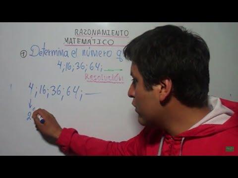 SUCESIONES NUMÉRICAS, RAZONAMIENTO MATEMÁTICO,TRES EJERCICIOS RESUELTOS(V1), Numeric Sequences from YouTube · Duration:  4 minutes 3 seconds