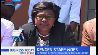 KenGen management accused of employing people from just one community