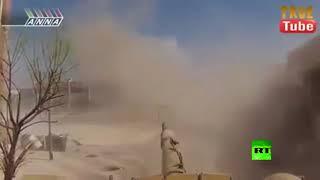 شاهد.. ماذا حدث في مواجهة دبابة سورية لمسلح بـ 'آر بي جي'