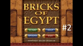 Bricks Of Egypt Gameplay Part 2
