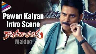 Pawan Kalyan Intro Scene | Katamarayudu Movie | Pawan Kalyan on Sets of Katamarayudu | Shruti Haasan
