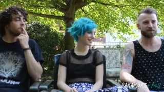 Paramore Fans Interviews Paramore at the Holmdel, NJ Monumentour - 6-28-14