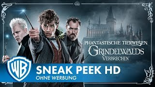 PHANTASTISCHE TIERWESEN: GRINDELWALDS VERBRECHEN - 7 Minuten Sneak Peek Deutsch HD German (2019)