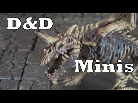 Inexpensive Miniatures for D&D - Official Dungeons and Dragons Board Game minis painted!