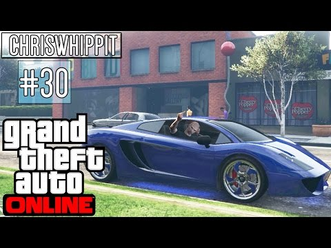GTA 5 ONLINE med SoftisFFS 30  CUSTOMIZE SUPERCAR VACCA