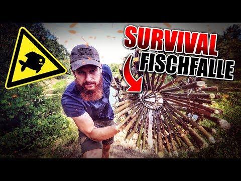 SURVIVAL FISCHFALLE - Reuse selber bauen - Bushcraft Projekt | Fritz Meinecke