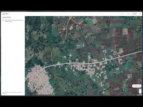 Desktop Road Editor on Google Maps
