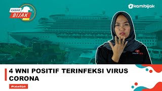4 Wni Positif Terinfeksi Virus Corona