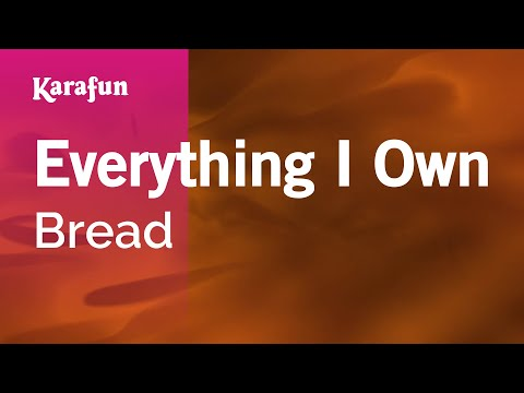 Karaoke Everything I Own - Bread *