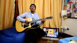 Jeena yahan marna yahan on guitar..!(movie-mera naam joker)(Emotional old hindi song)