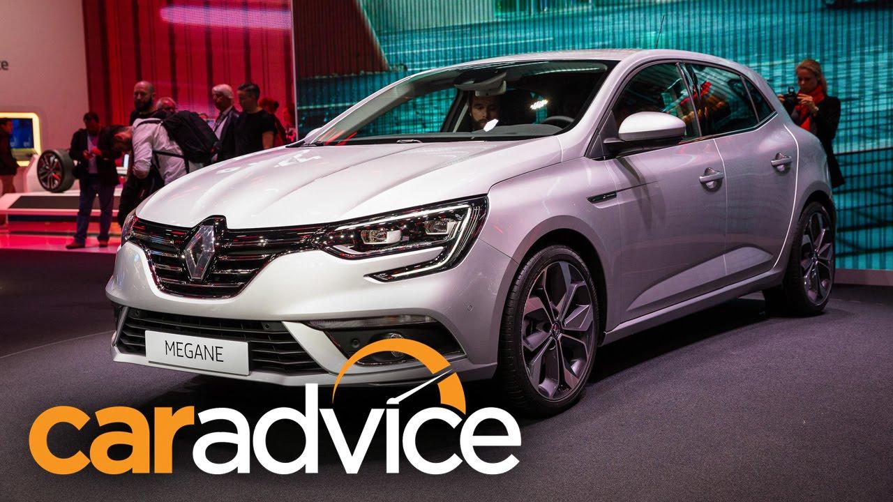 Luxury 2016 Renault Megane Walkaround  2015 Frankfurt Motor Show