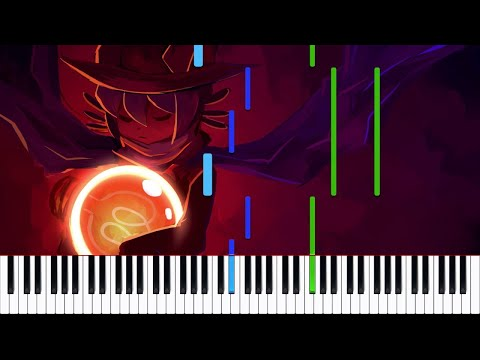 OneShot // Niko and the World Machine | LyricWulf Piano Tutorial on Synthesia