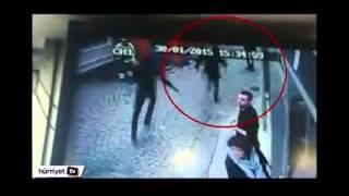 Taksim'deki saldırı sonrası kaçan kişi kameraya yakalandı