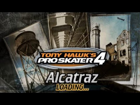 Xin Plays: Tony Hawk's Pro Skater 4 (PS1): Part 3: Alcatraz (1/2)