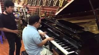 Pianist Quốc Đạt Saxophone Hoàng Thi