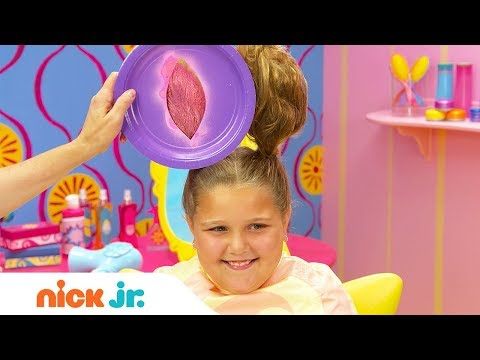 How to Create a Bunny Hairstyle 🐇 Style Files Hair Tutorial | Sunny Day | Nick Jr.