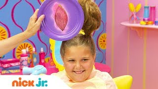 How to Create a Bunny Hairstyle 🐇 Style Files Hair Tutorial   Sunny Day   Nick Jr.
