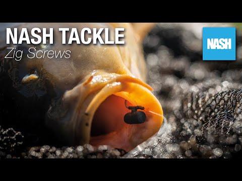 Nash Tackle Zig Screws mixed colours Zig Fishing Carp Fishing
