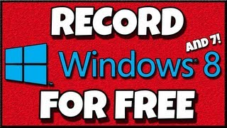 How to Record Your Desktop for Free ( Windows 8 / Fraps Alternative / Legal / HD ) With OBS 64 bit