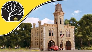 Fire Station No. 3 - HO Scale - DPM Select Building Kits | Woodland Scenics®