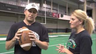 How to Throw tнe Perfect Spiral Football