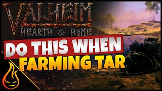 How To Get L๐ts Of Tar Easy In Valheim Hearth And Home