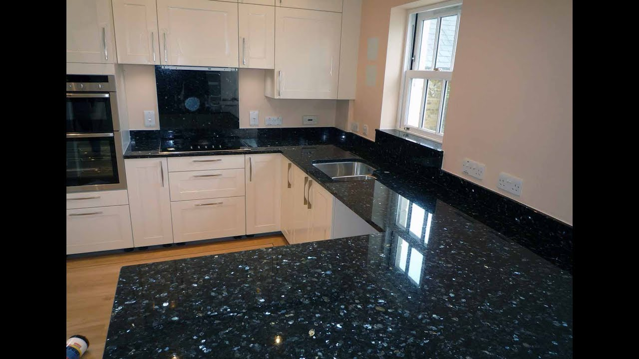 Beau Black Pearl Granite Design For Counter Top, Wall Decoration, Flooring
