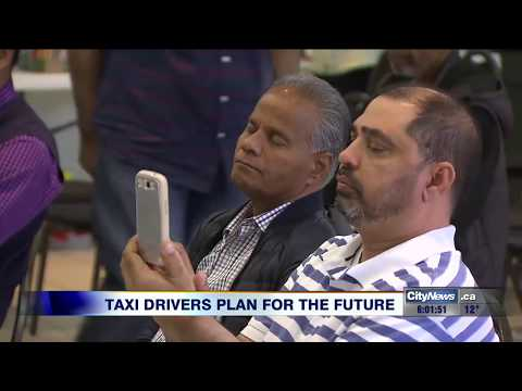 Toronto cabbies discuss a new way of doing business