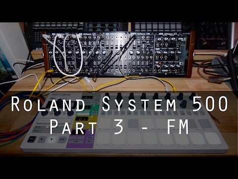 Roland System-500 part 3 - FM