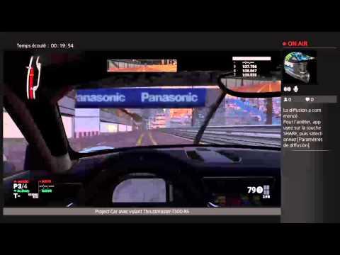 """sharks11 Live project car """"partie en ligne"""""""