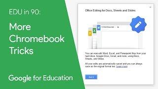 EDU in 90: More Chromebook Tricks