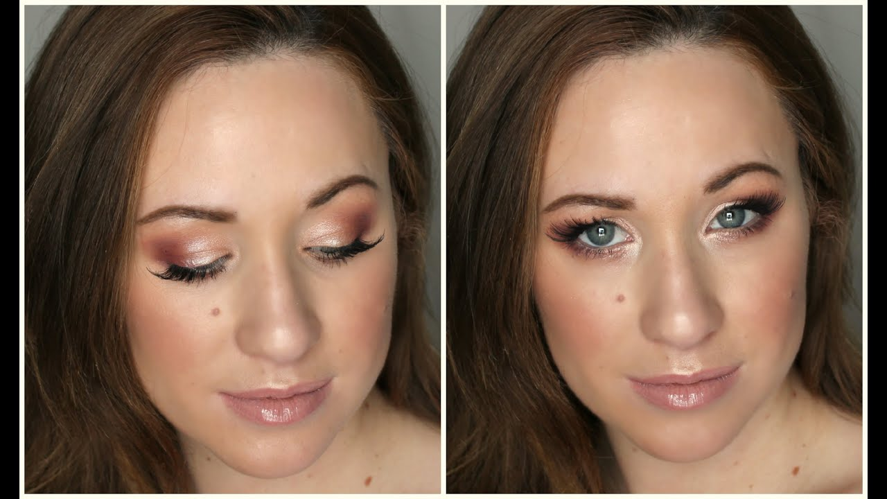 Romantic Rose Gold Valentine S Day Makeup Tutorial
