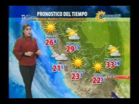 Pronostico del tiempo para el martes 15 de junio 2010 for Pronostico del tiempo accuweather