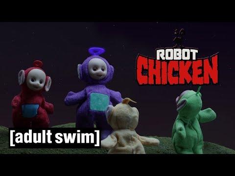 3 Distorted Teletubbies Moments | Robot Chicken | Adult Swim