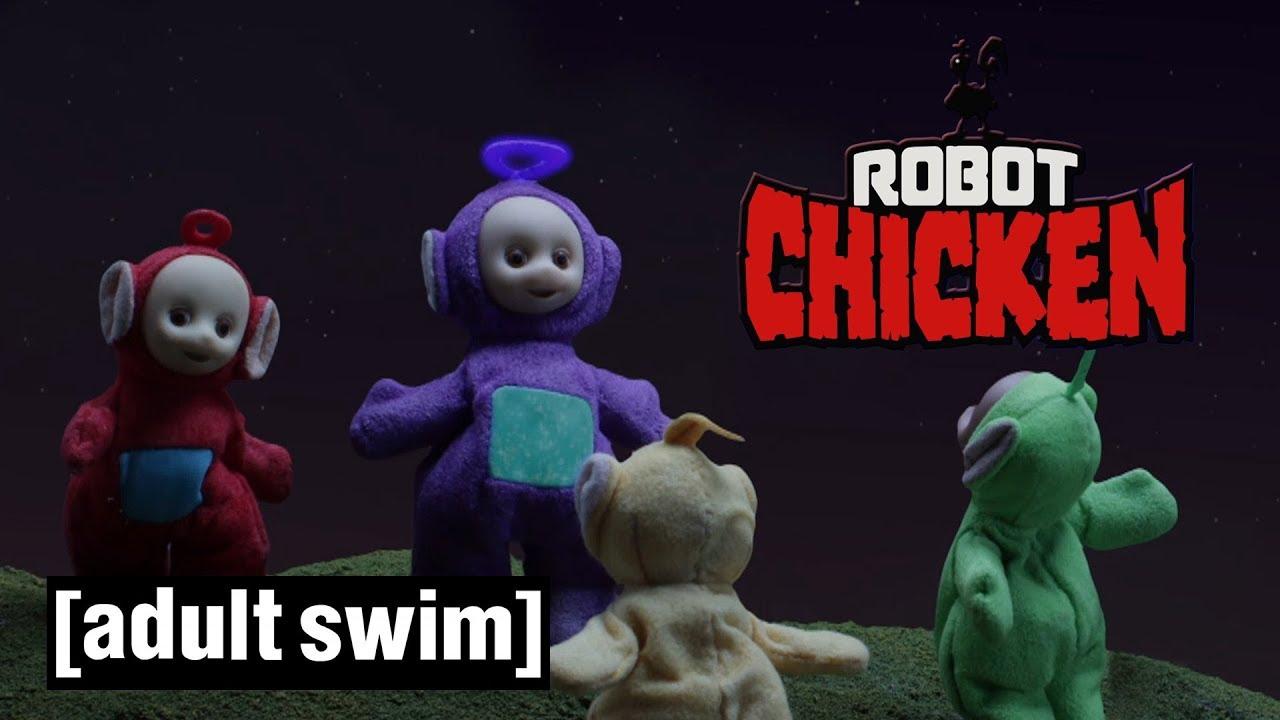 swim chicken Adult robot