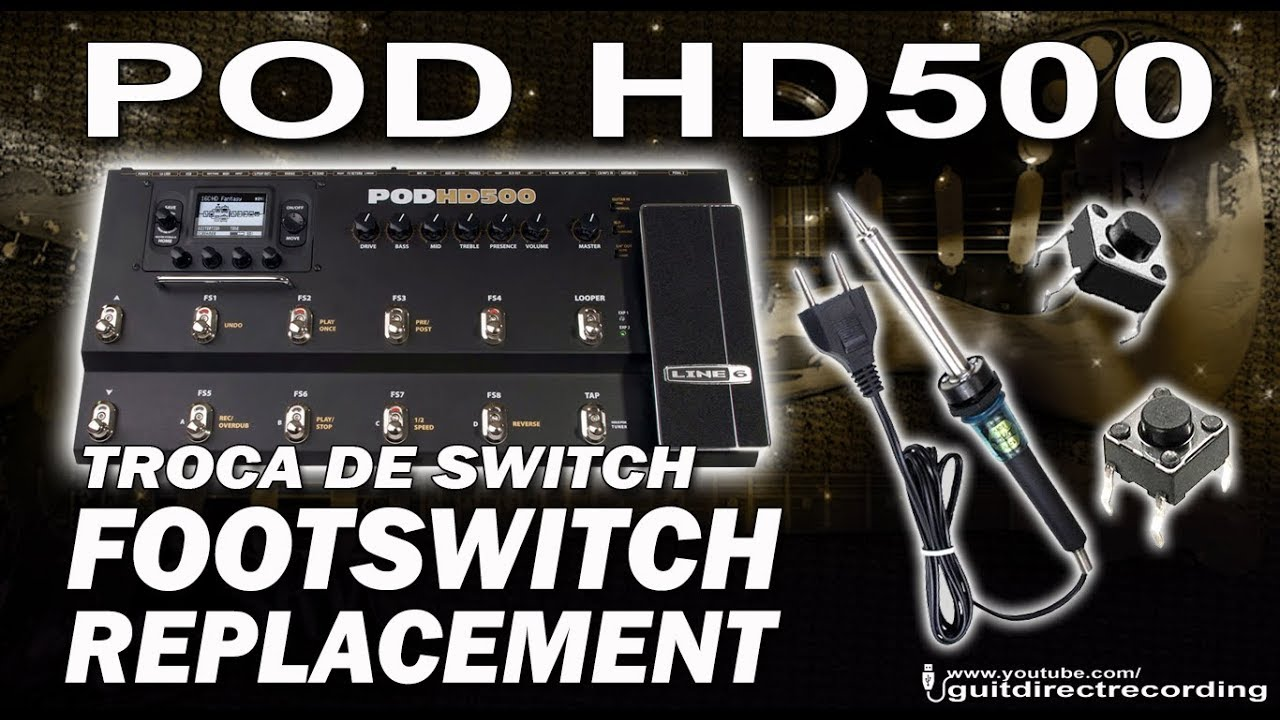 POD HD500 - SHARING PATCHES - POD HD - Line 6 Community