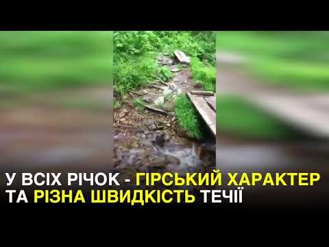 Канал Украина  Гірський характер  цікаві факти про річки Карпат ... 51223714dff35