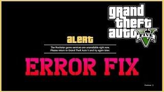 GTA V All Social Club Error Fix ( 2018 )