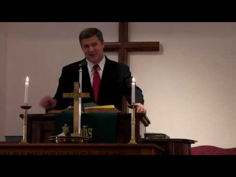 Pastor Brad Anderson :: Union Hill United Methodist Church - 07/4/2010