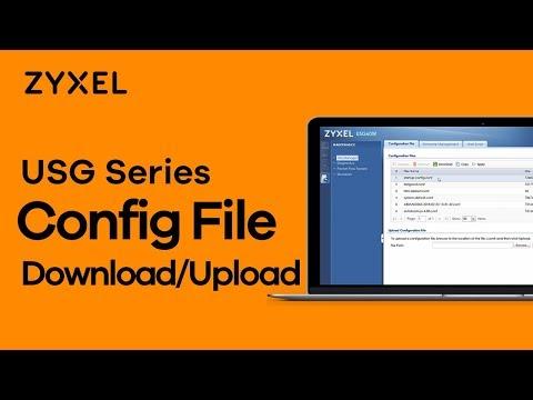 Download/Upload Configuration File via FTP on a USG – Zyxel Support