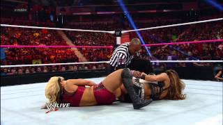 Eve vs. Kaitlyn - WWE Divas Championship Match: Raw, Oct. 8, 2012