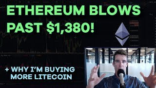 Ethereum Blows Past $1,380! BTC Drops, Gut Checking Your Alts, Playing the Crypto Lotto - Ep122