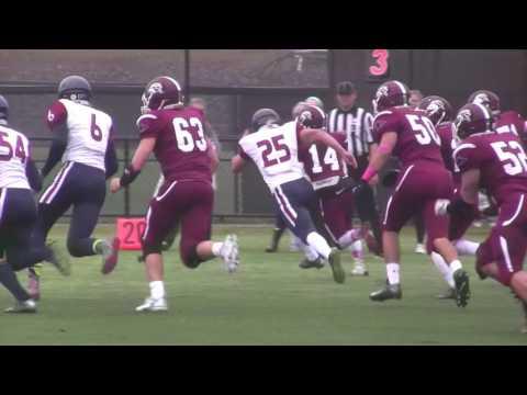 Franklin Pierce University Sprint Football Vs  Pennsylvania University