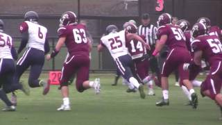 Franklin Pierce University Sprint Football Vs  Pennsylvania University