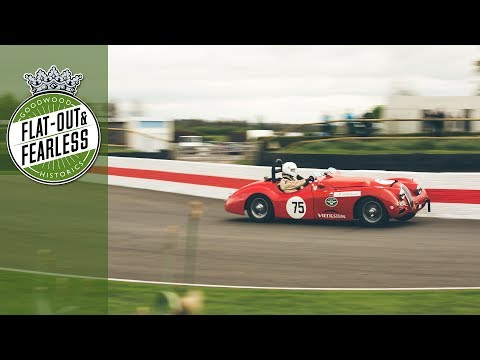 Listen to the beautiful Jaguar XK120