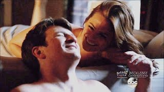 "Castle 8x07  End Scene Castle & Beckett  Anniversary ""The Last Seduction"" Season 8 Episode 7"